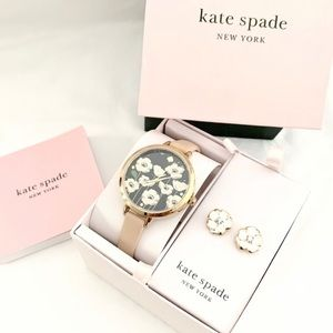NWT Kate spade women's set watch and earrings